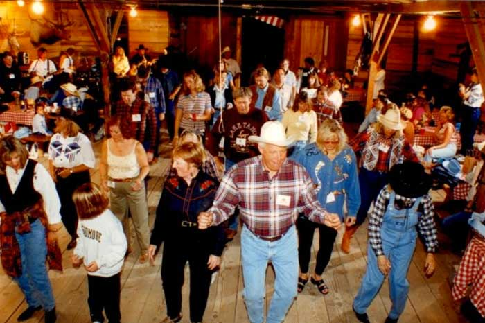 Country Western Dance | 4 Eagle Ranch | Vail Beaver Creek | 4 Eagle ...