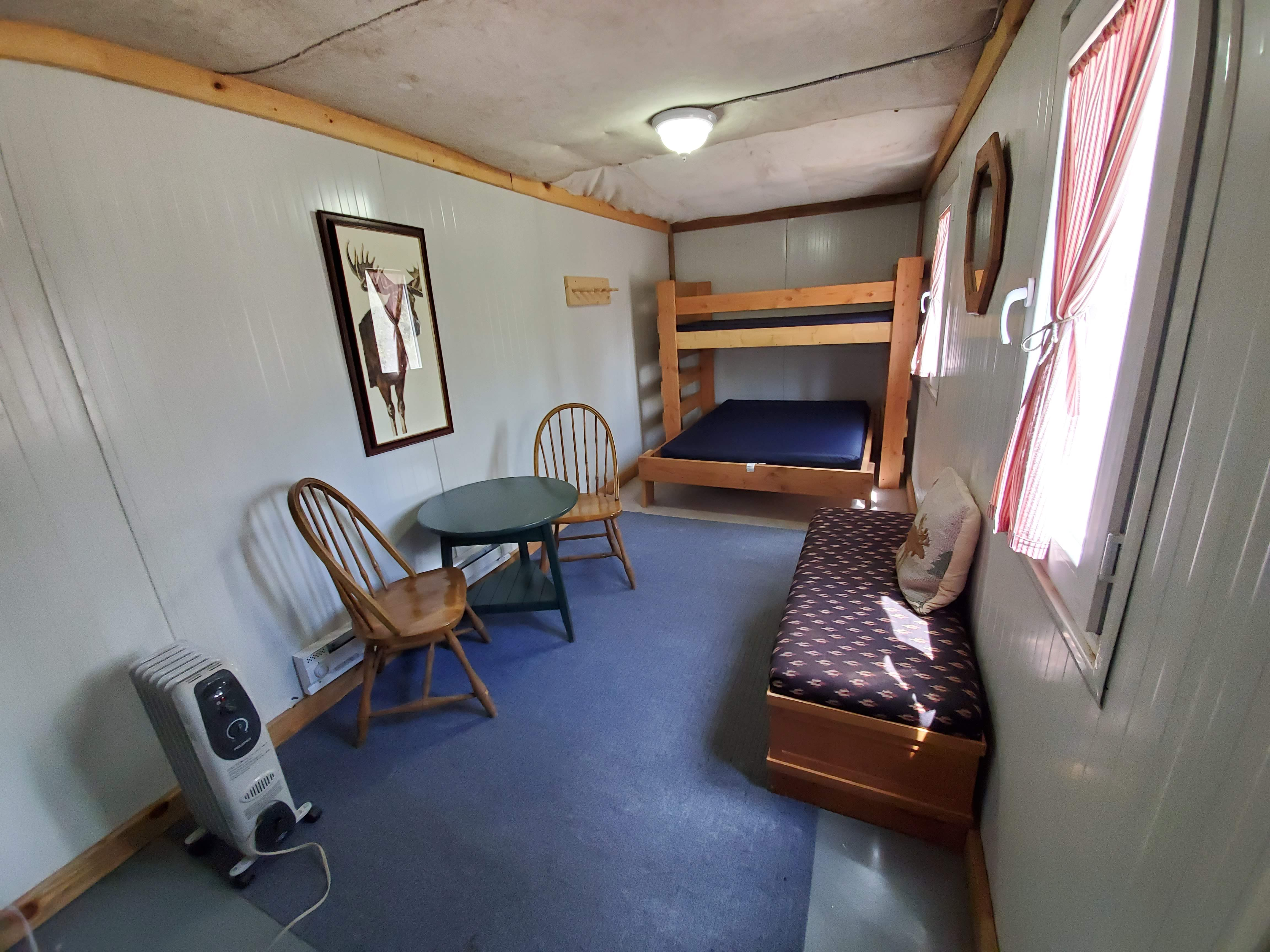 Butter Cup Cabin Interior